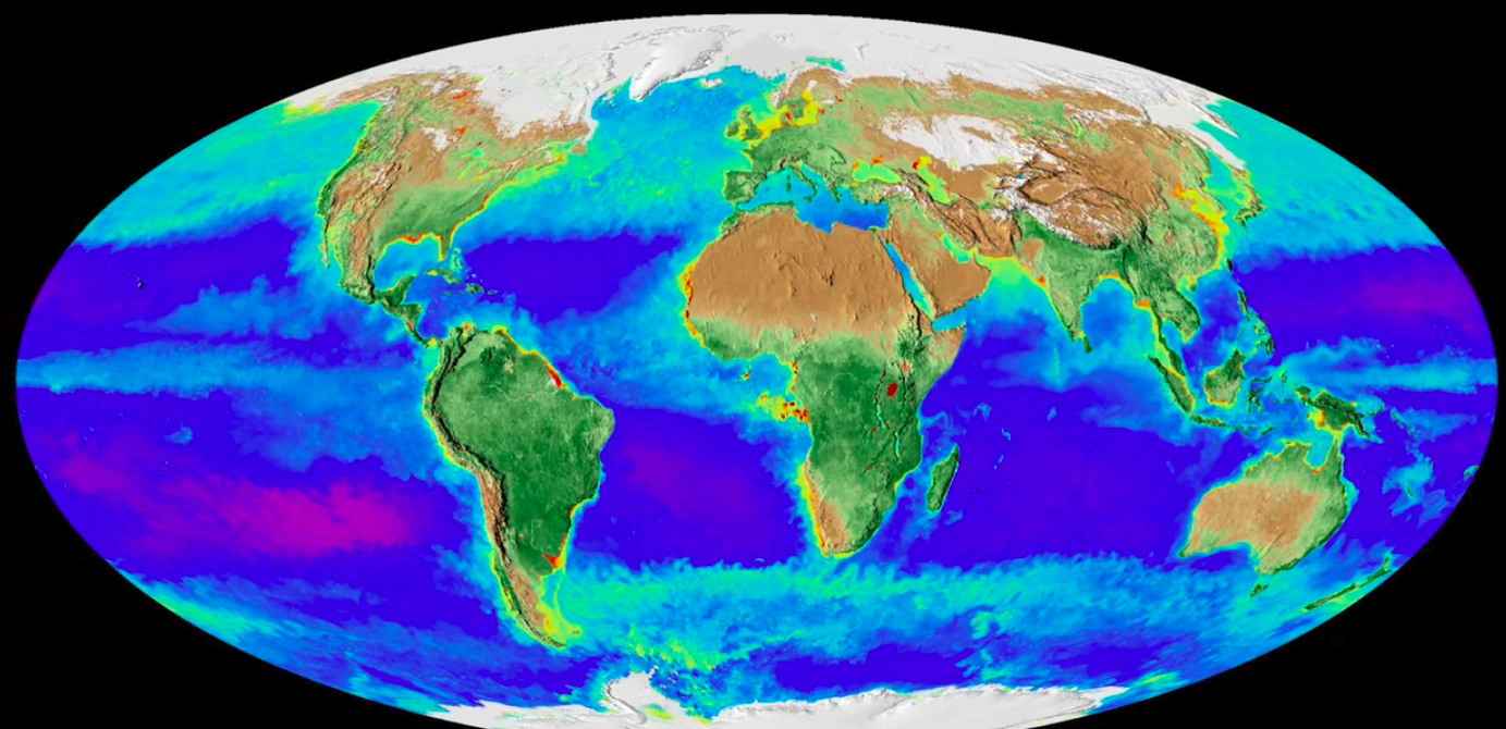 NASA Time-Lapse Footage Depicts The Incredible Effects of Climate Change