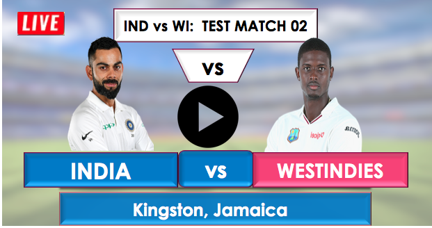 India vs WestIndies 2nd test : India is batting first