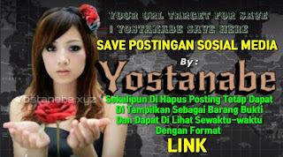 Save Postingan Ujar Kebencian
