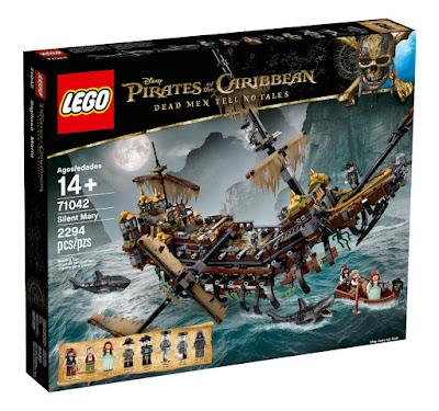LEGO Piratas del Caribe 5 La Venganza de Salazar - 71042 Sigilosa Maria : Barco Fantasma - The Silent Mary | 2017 | Juego de construcción COMPRAR JUGUETE ESPAÑA