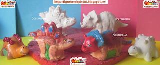Obiecte de Pictat pentru Copii dinozauri