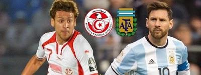 المنتخب التونسي يواجه الأرجنتين…