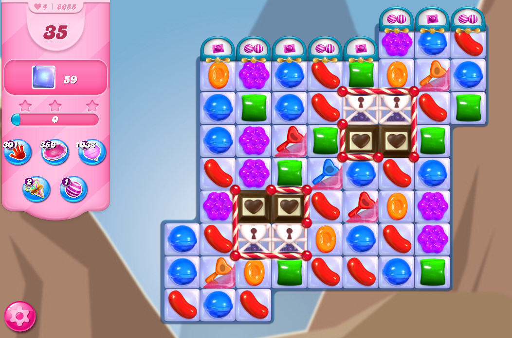 Candy Crush Saga level 8655