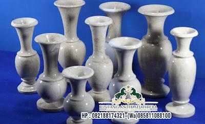 Vas Bunga Dari Marmer Unik, Vas Bunga Marmer Minimalis, Vas Bunga Marmer Tulungagung