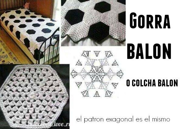 Balon Futbol de Crochet