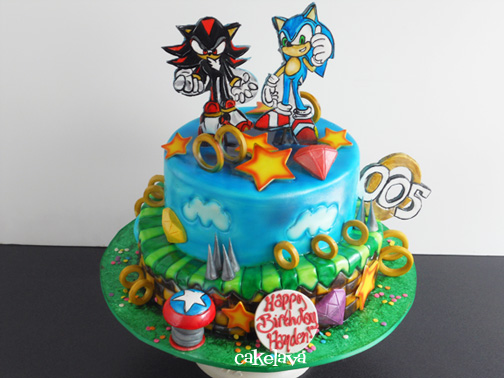 cakelava: Shadow and Sonic and The Chaos Emeralds