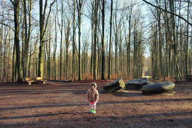 Teruveren Park Hiking Duisberg Megalithic Dolmen Brussels
