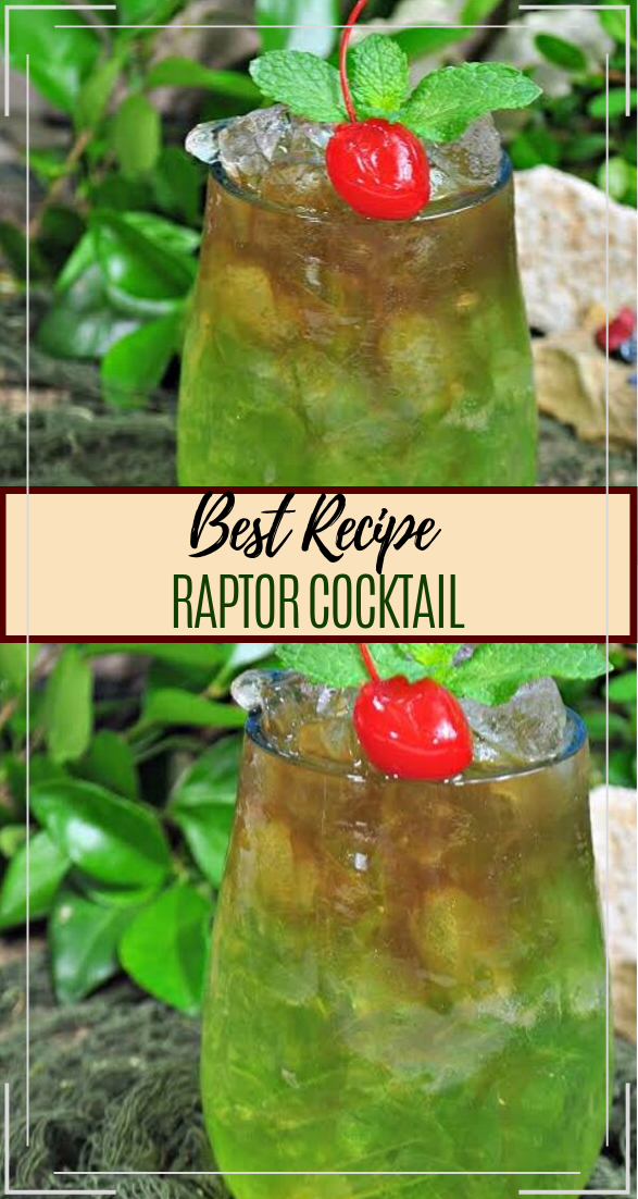 RAPTOR COCKTAIL  #healthydrink #easyrecipe #cocktail #smoothie