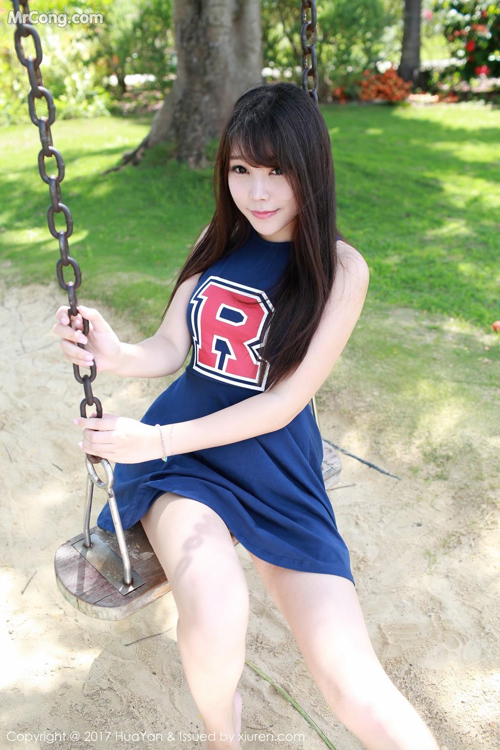 Image HuaYan-Vol.049-Booty-Zhizhi-MrCong.com-024 in post HuaYan Vol.049: Người mẫu Booty (芝芝) (56 ảnh)