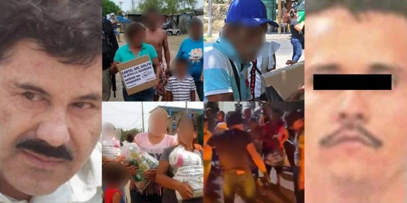 CJNG y Cártel de Sinaloa entregaron despensas en pleno proceso electoral en Jalisco y Sinaloa