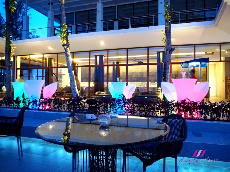 natas travel bintan resorts nelayan beachfront restaurant review