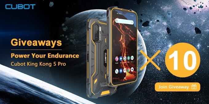 Sorteio de Dez (10) Smartphones King Kong 5 Pro