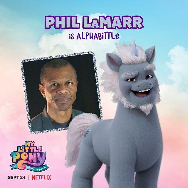 Alphabittle My Little Pony - A New Generation Phill Lamarr