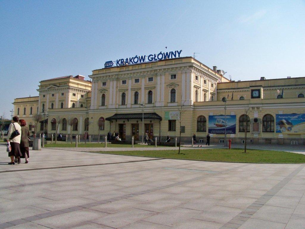 Kraków - Dworzec PKP