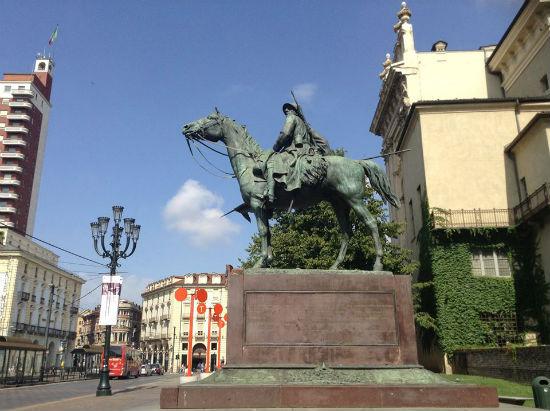 Monumen Ai Cavalieri d'Italia, 1683-1918