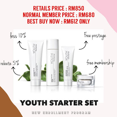 FREE MEMBERSHIP Shaklee dengan Youth Starter Set