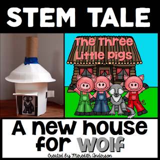 The Three Little Pigs STEM Tale