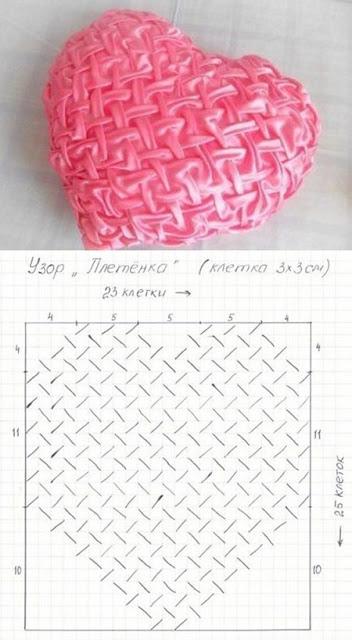 almofadas em capitonê corção com os diagramas para imprimir