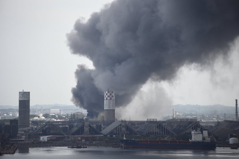 ACCIDENT: Petrochemical Facility Exploded