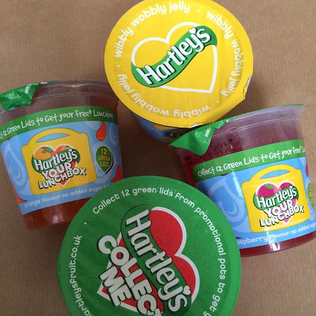 September Degustabox, Hartley's no added sugar jelly pots
