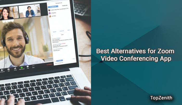 Best Alternatives for Zoom Video Conferencing App