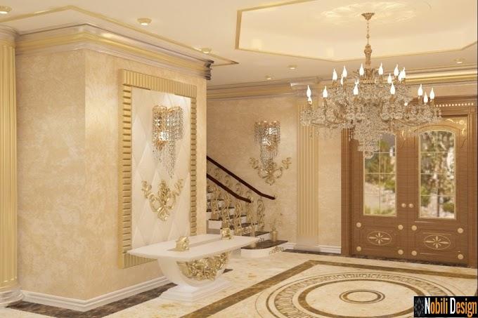Design interior case de lux Bucuresti - Amenajari interioare clasic modern