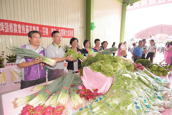 埤頭鄉農會農產品集貨場啟用 農情米意產業推廣