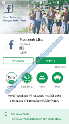 downloat aplikasi facebook lite
