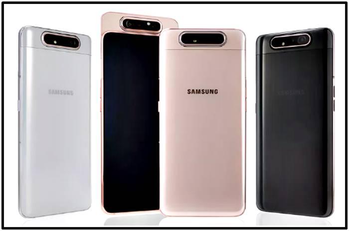 Samsung galaxy A80 colores y cámara