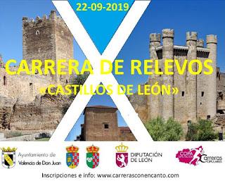 Carrera Relevos Diputacion de Leon 2019