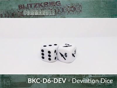 BKC-D6-DEV   D6 Deviation Dice / regular D6 pair
