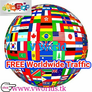 How To Get World wide Traffic In Your Blog, website, YouTube Channel etc