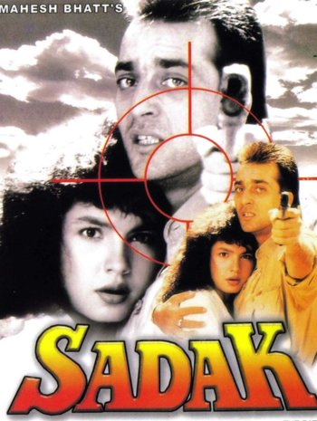 Sadak (1991) Hindi DVDRip MP4 HD 350mb