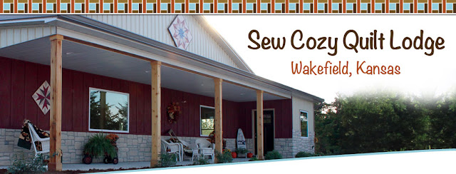 Sew Cozy Quilt Lodge - Wakefield, Kansas