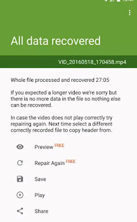 video rusak merupakan suatu hal yang dapat saja menimpa pada video siapa saja Penyebab File Video Rusak atau Corrupt sesampai kemudian Tidak Bisa Diputar dan Cara Memperbaikinya