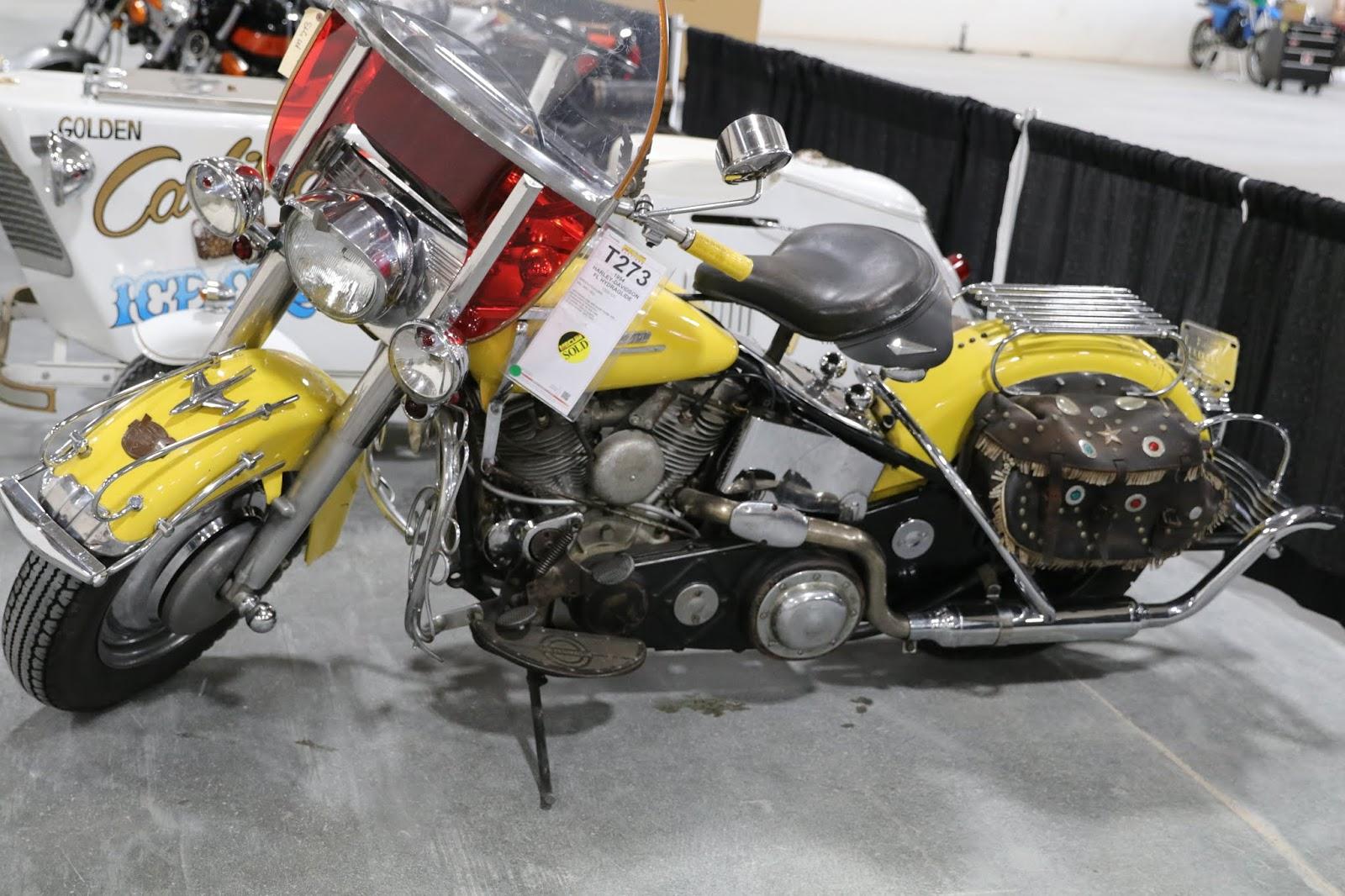 Oldmotodude 1954 Harley Davidson Hydraglide For Sale At The 2019
