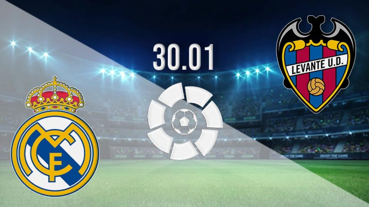 دليلك الشامل لمباراة ريال مدريد ضد ليفانتي اليوم في الجولة 21 من الدوري الاسباني