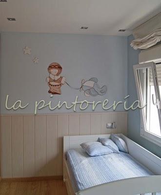Des Murs Enchantés Décoration Chambre Enfant Avec Peinture