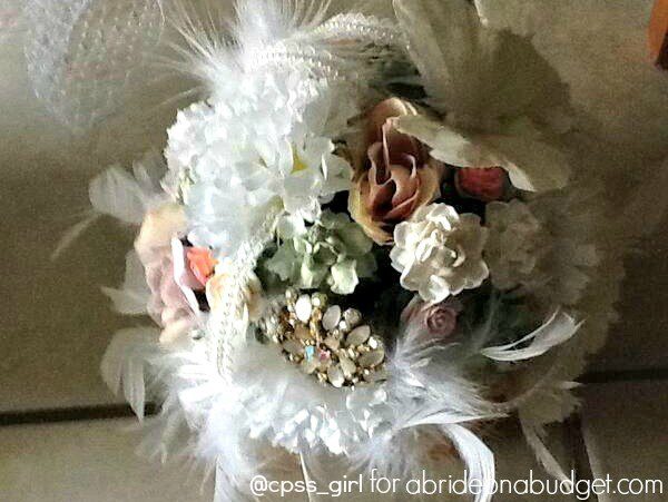 You can make your own bouquet if you want. Get inspired by this DIY Homemade Wedding Bouquets post. Get all the details at www.abrideonabudget.com.