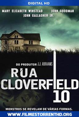 Baixar Rua Cloverfield, 10 – Torrent Bluray 720p | 1080p Dublado (2016)