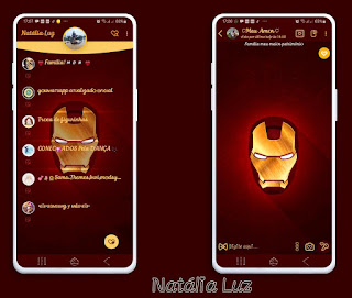 Iron Man Theme For YOWhatsApp & Fouad WhatsApp By Natalia Luz