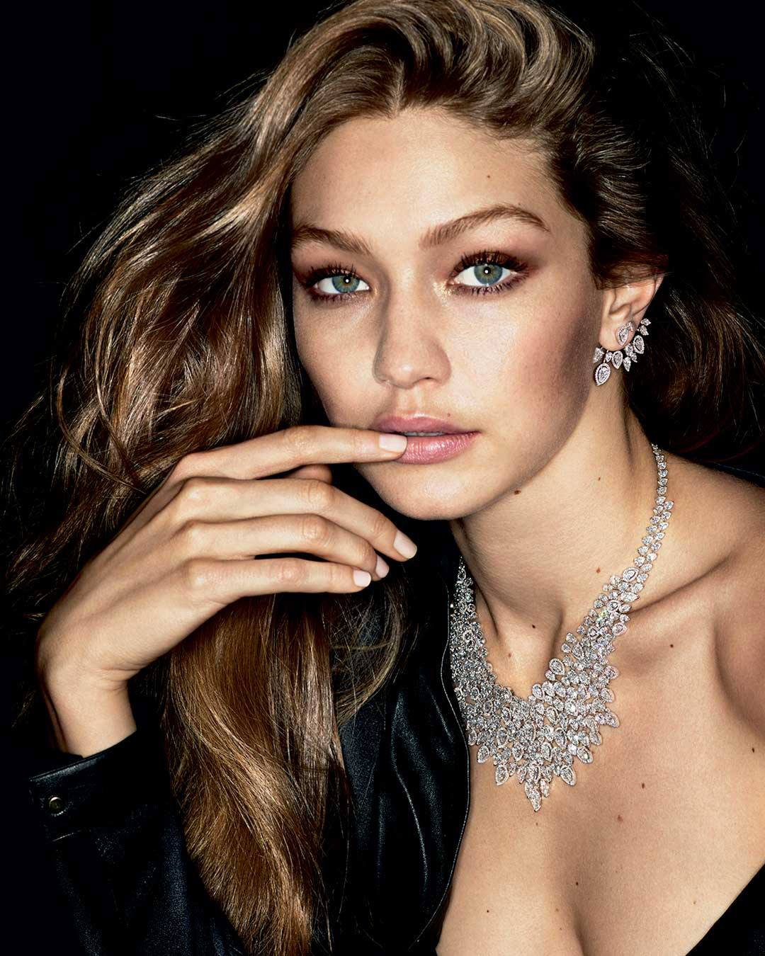 Messika 'My Twin' Jewelry Campaign ft. Gigi Hadid