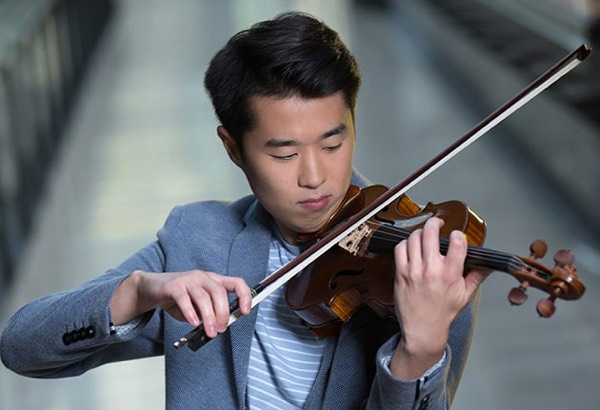 Heemin Choi plays 1768 Januarius Gagliano violin.