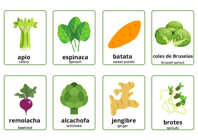 Spanish vegetables dishes