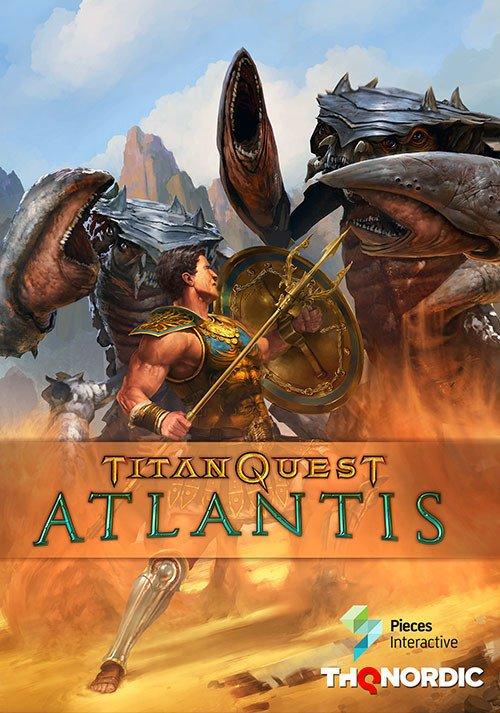 Titan Quest Anniversary Edition Atlantis PC Cover Caratula