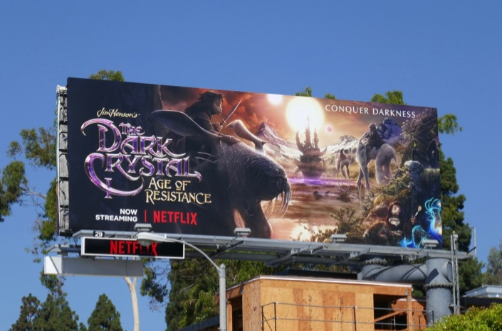 Dark Crystal Age Resistance Landstriders billboard
