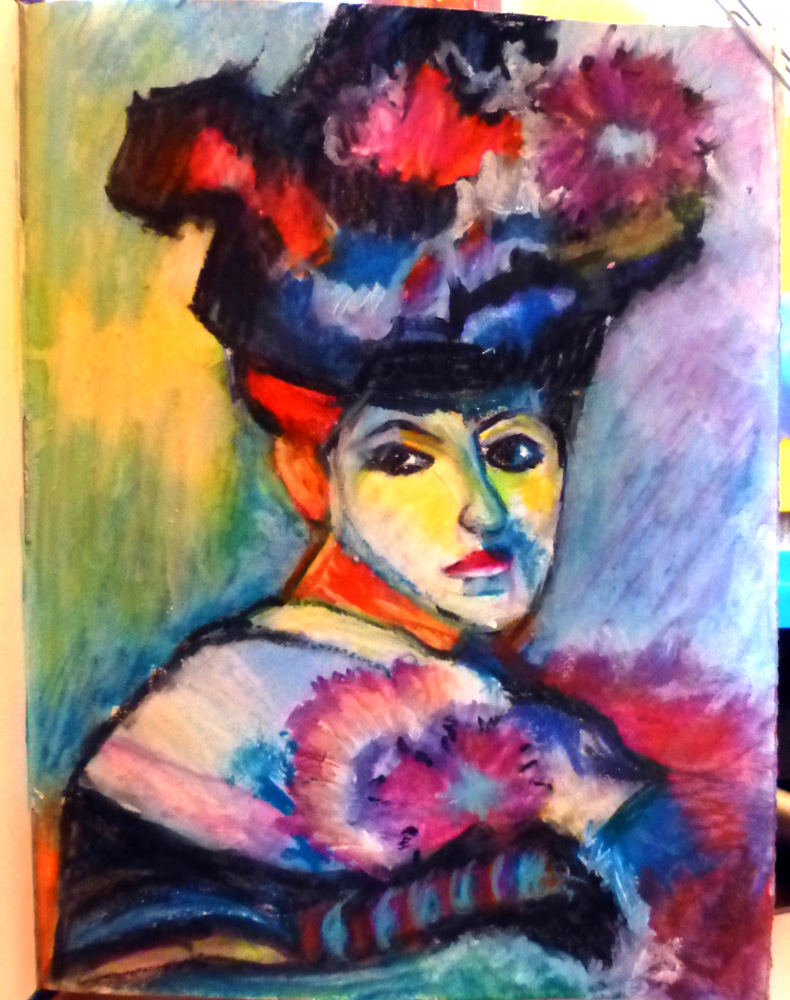 "Gloria J Zucaro: Gloria J Zucaro's ""Matisse Fancy Lady"""
