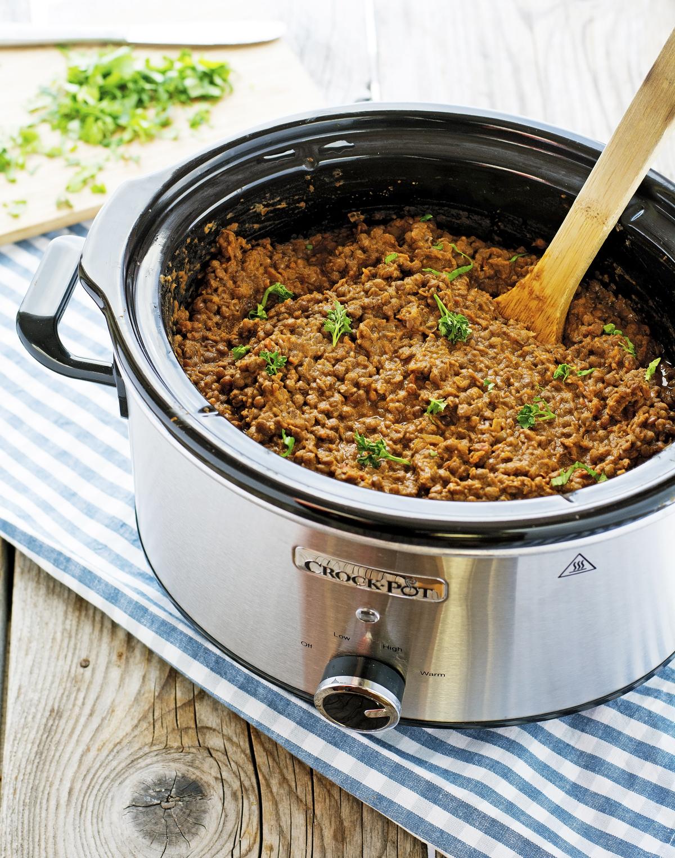 (Vegan) Crock-Pot Thai Red Curry Lentils