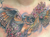 10 Beautiful and Girly Chest Tattoos