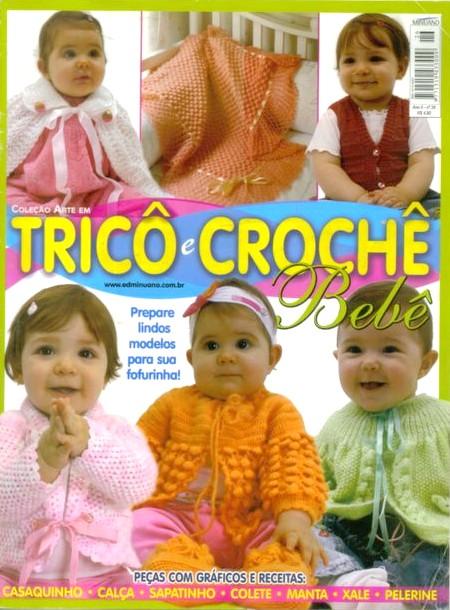 Tricô e Crochê Bebê